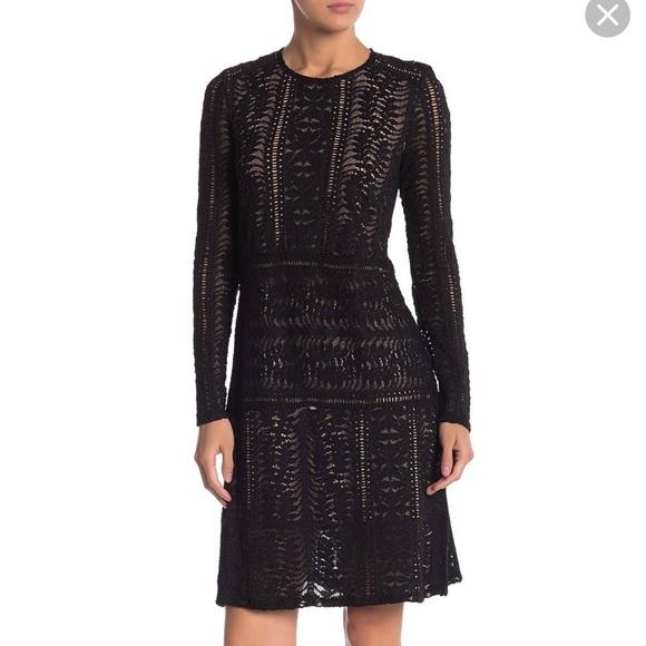 BCBGMaxAzria Dresses & Skirts - BCBG Black lace dress